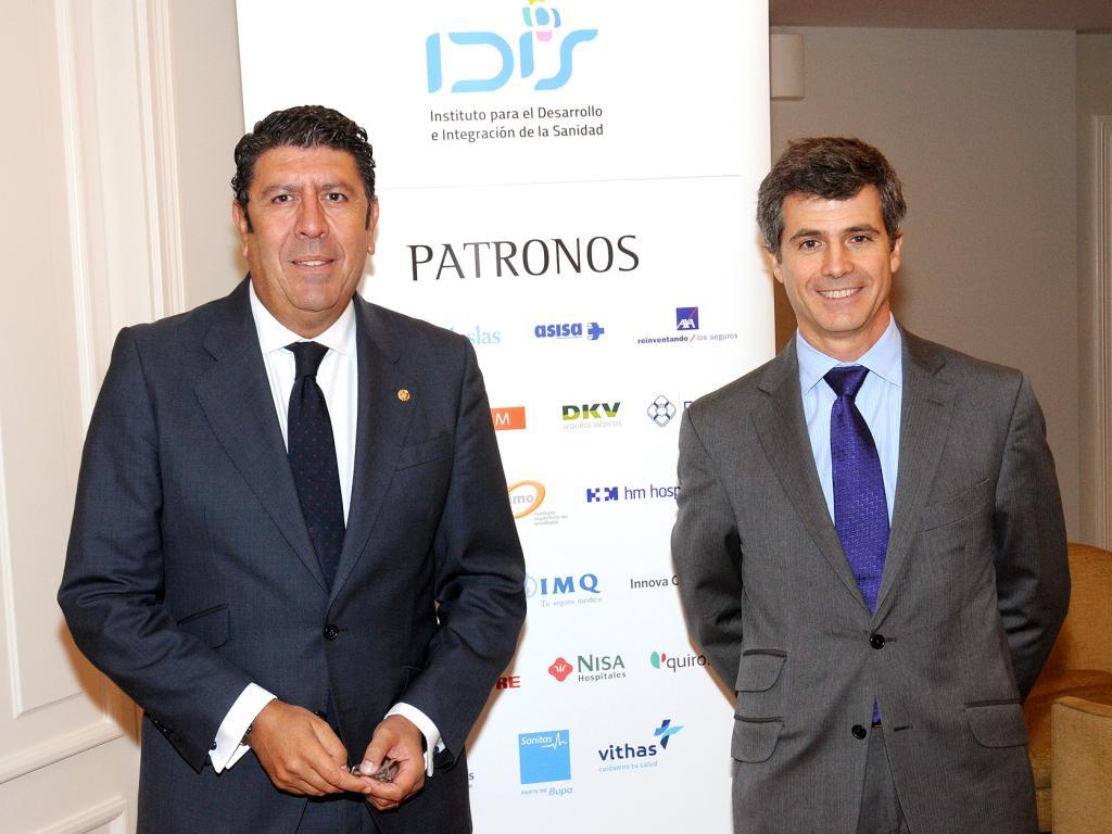 Manuel Vilches y Adolfo Fernández-Valmayor