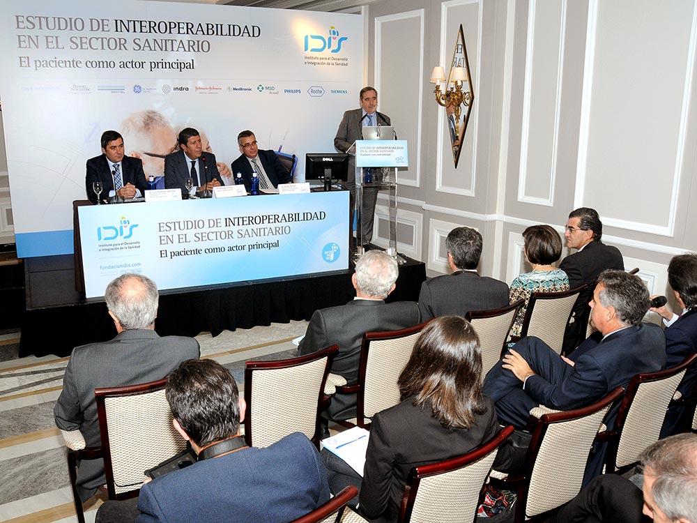 Adolfo Fernández-Valmayor inauguró la Jornada de Interoperabilidad