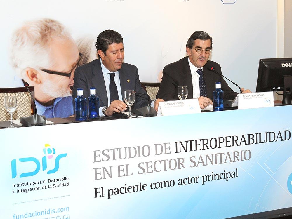 Juan Abarca clausuró la jornada, junto a Manuel Vilches