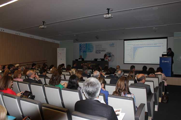 Asistentes a la Jornada de Sanidad Privada en el País Vasco