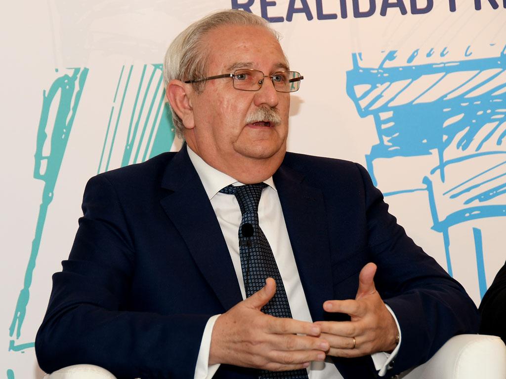 Serafín Romero (OMC) expone el punto de vista del profesional sanitario