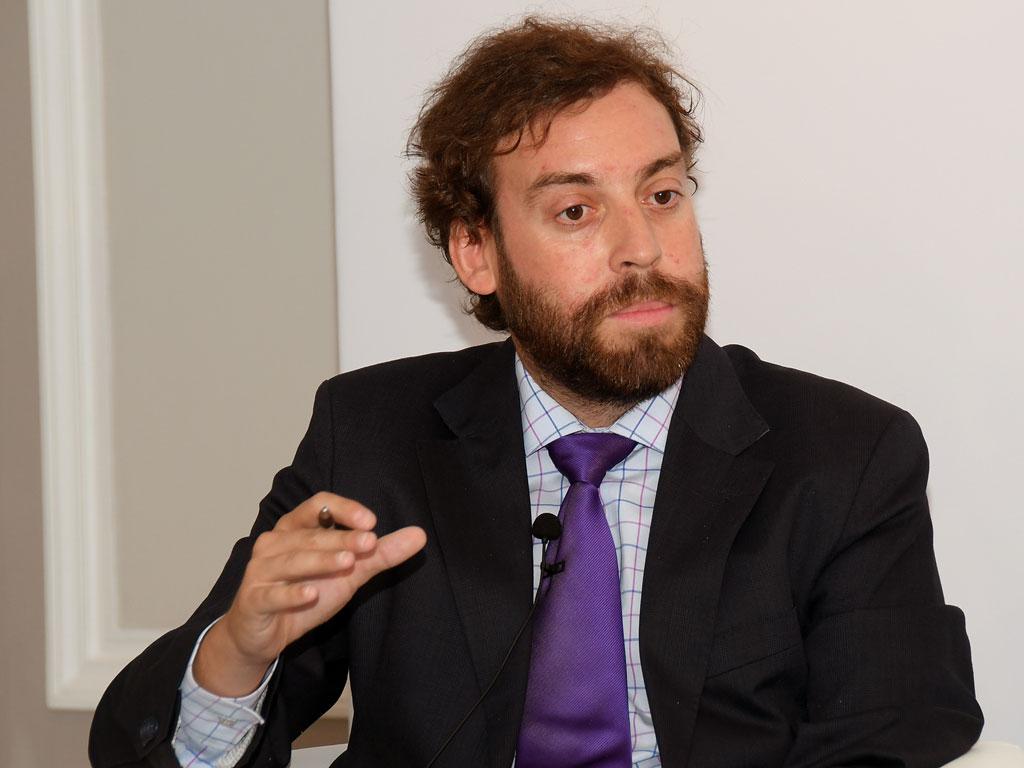 Alberto Vigario (El Economista) en representación de los medios de comunicación