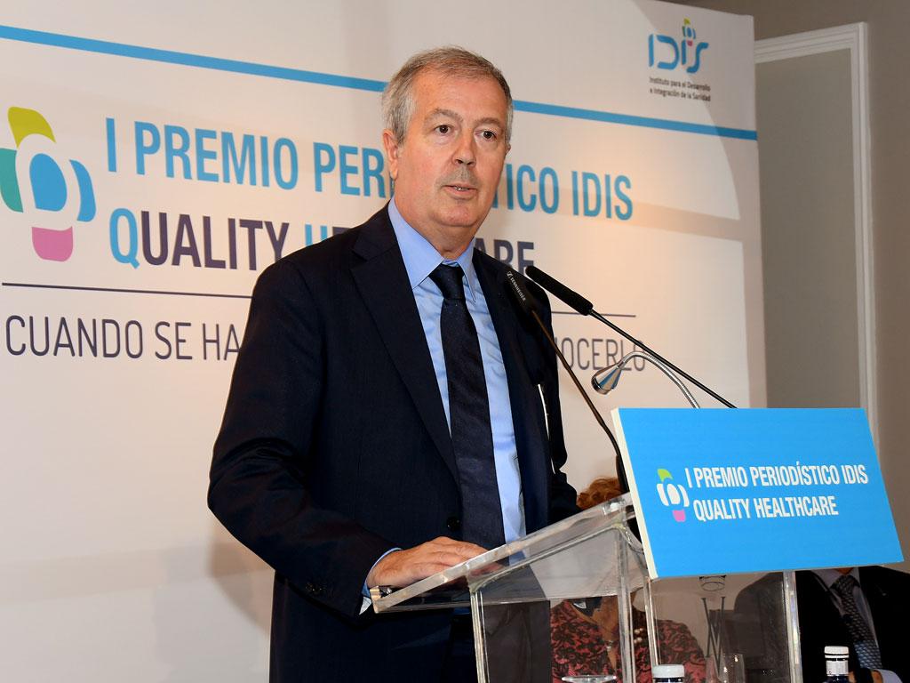 Luis Mayero (IDIS) en la clausura del acto
