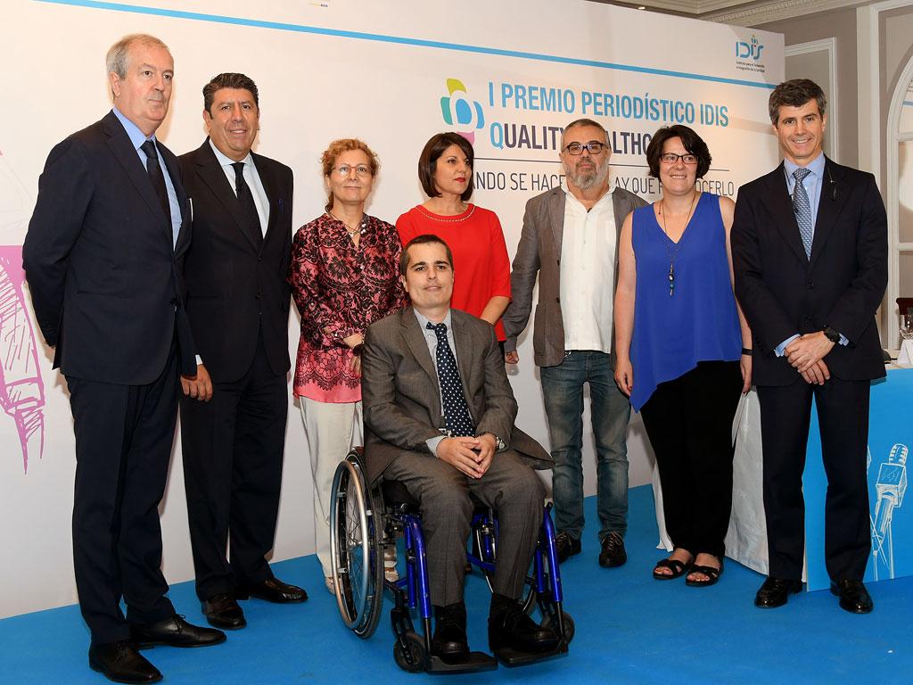 Premiados, miembros de IDIS y jurado de los premios