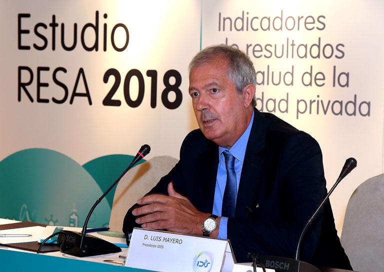 Clausura de la Presentación de la Jornada a cargo de Luis Mayero (Idis)