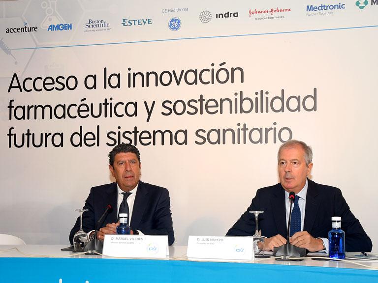 Apertura de la Jornada. Luis Mayero y Manuel Vilches (IDIS)