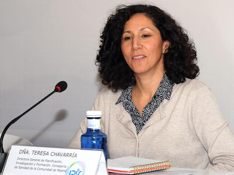 Teresa Chavarría (Consejería de Sanidad de Madrid)