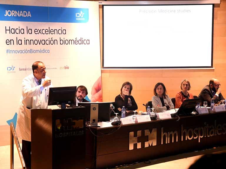 Intervención de Emiliano Calvo (HM Hospitales)