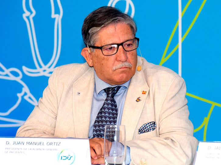 Juan Manuel Ortiz (Alianza General de Pacientes)